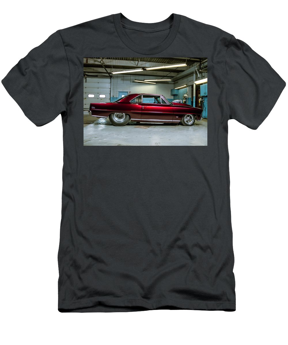 Old Vehicle Men's T-Shirt (Athletic Fit) featuring the photograph Classic Vehicle by Alex Szopa
