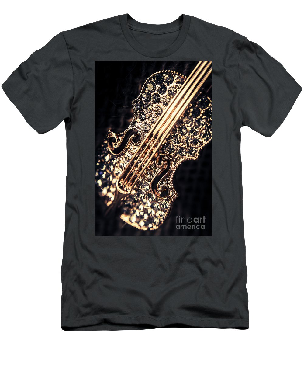 Music Men's T-Shirt (Athletic Fit) featuring the photograph Classical Performing Art by Jorgo Photography - Wall Art Gallery
