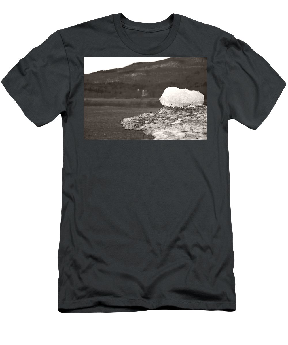 Men's T-Shirt (Athletic Fit) featuring the photograph Closer Silo Berg by Heather Kirk