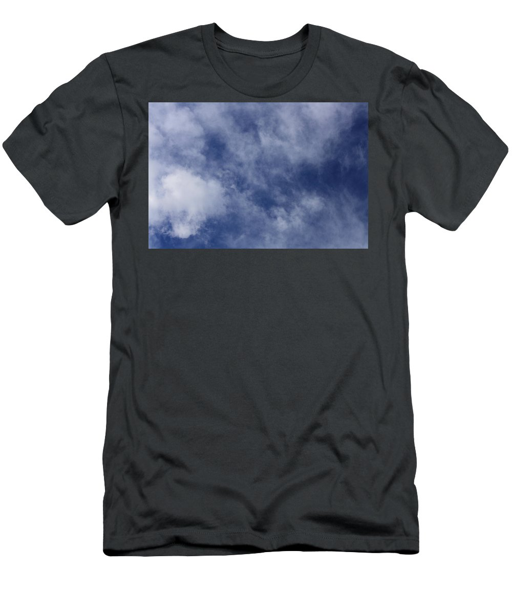 Cloud.sky Men's T-Shirt (Athletic Fit) featuring the photograph Clouds 5 by Teresa Mucha