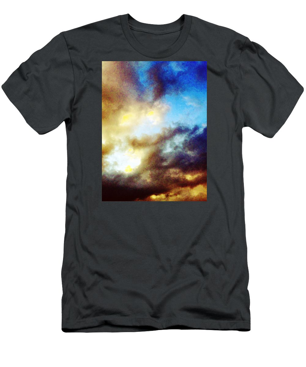 Summer T-Shirt featuring the photograph Clouds by Flavien Gillet