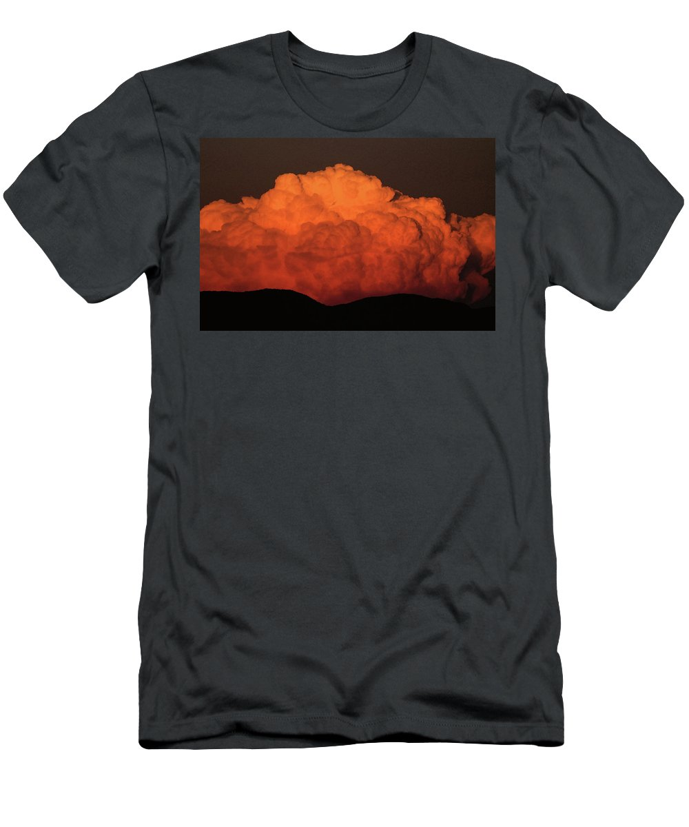 Clouds Men's T-Shirt (Athletic Fit) featuring the photograph Clouds by James Young