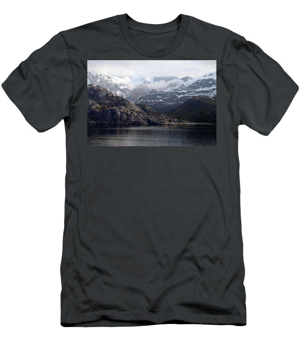 Alaska Men's T-Shirt (Athletic Fit) featuring the photograph Coastal Beauty Of Alaska 1 by Richard Rosenshein