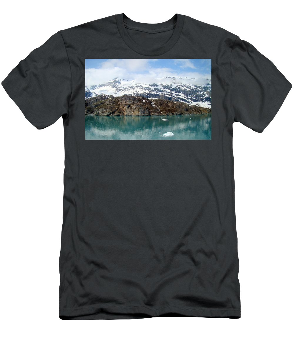 Coast Men's T-Shirt (Athletic Fit) featuring the photograph Coastal Beauty Of Alaska 5 by Richard Rosenshein