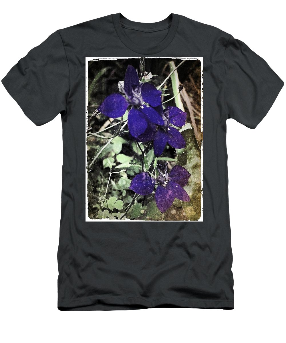 Flowers Men's T-Shirt (Athletic Fit) featuring the photograph Collage By Mother Nature by Mario MJ Perron