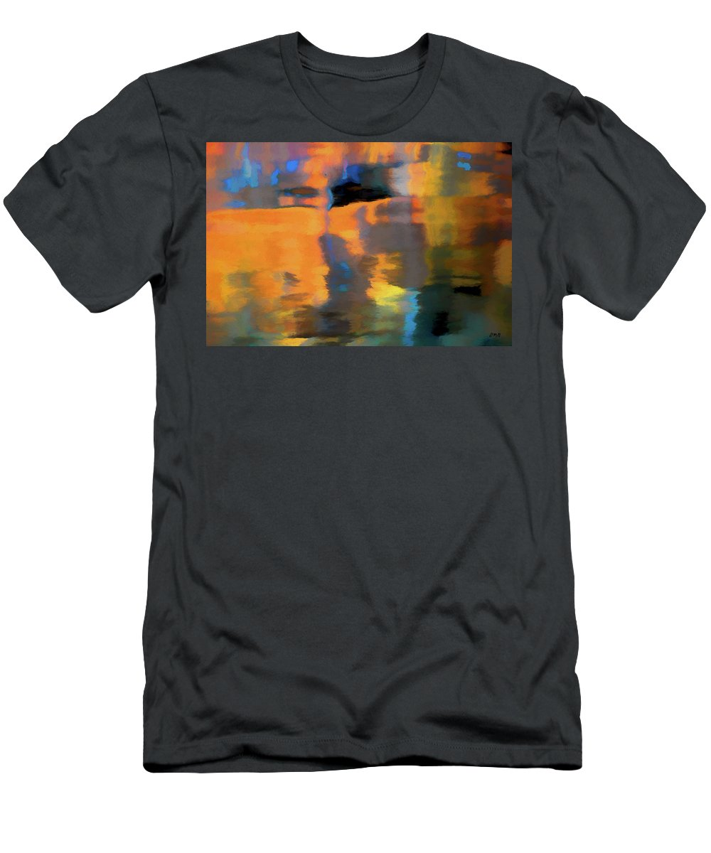 Abstract Men's T-Shirt (Athletic Fit) featuring the photograph Color Abstraction Lxxii by David Gordon