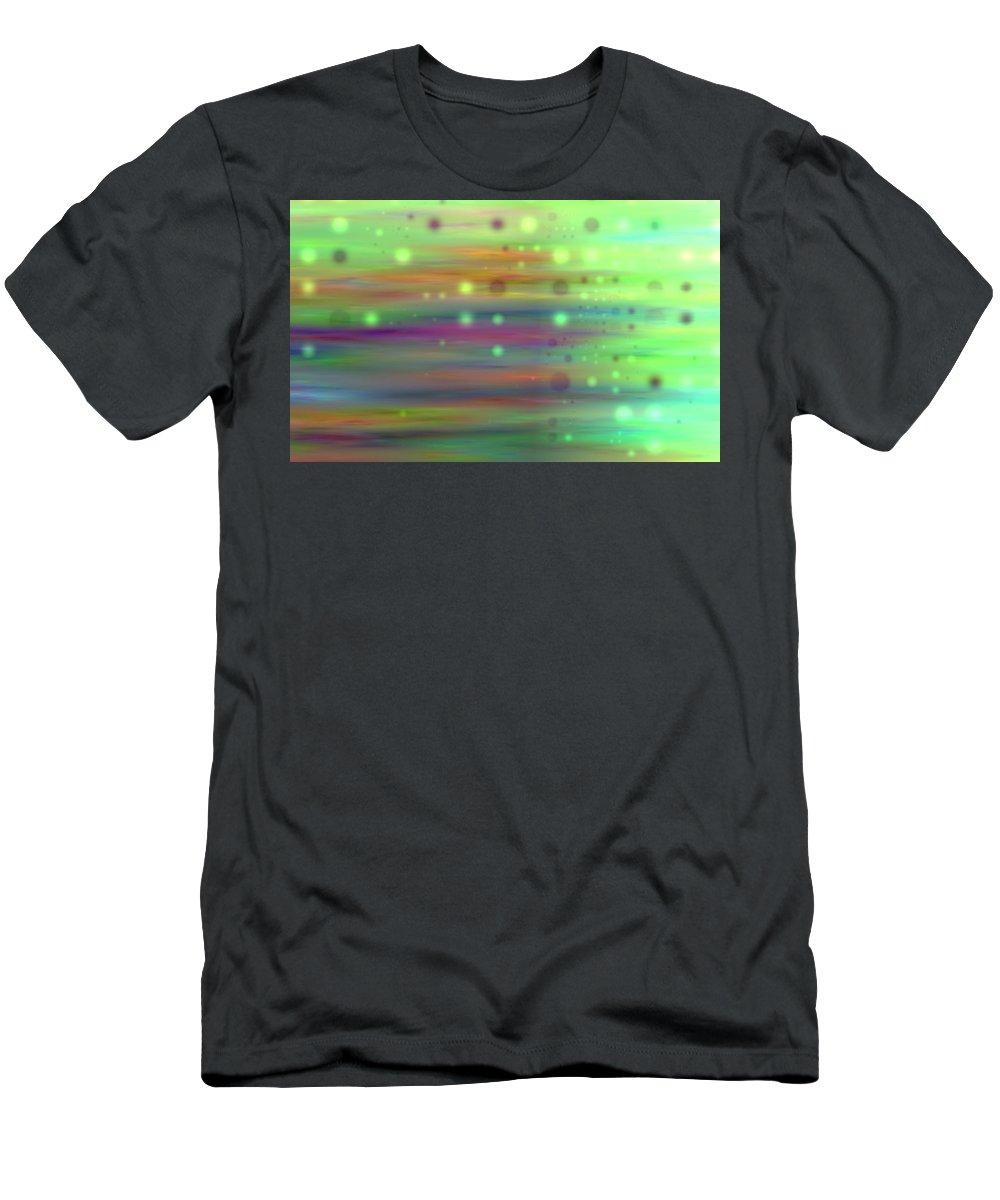 Art Digital Art Men's T-Shirt (Athletic Fit) featuring the digital art Colour13mlv - Impressions by Alex Porter