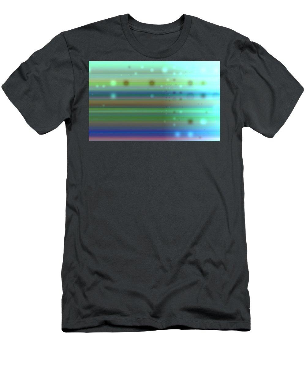 Art Digital Art Men's T-Shirt (Athletic Fit) featuring the digital art Colour15mlv - Impressions by Alex Porter