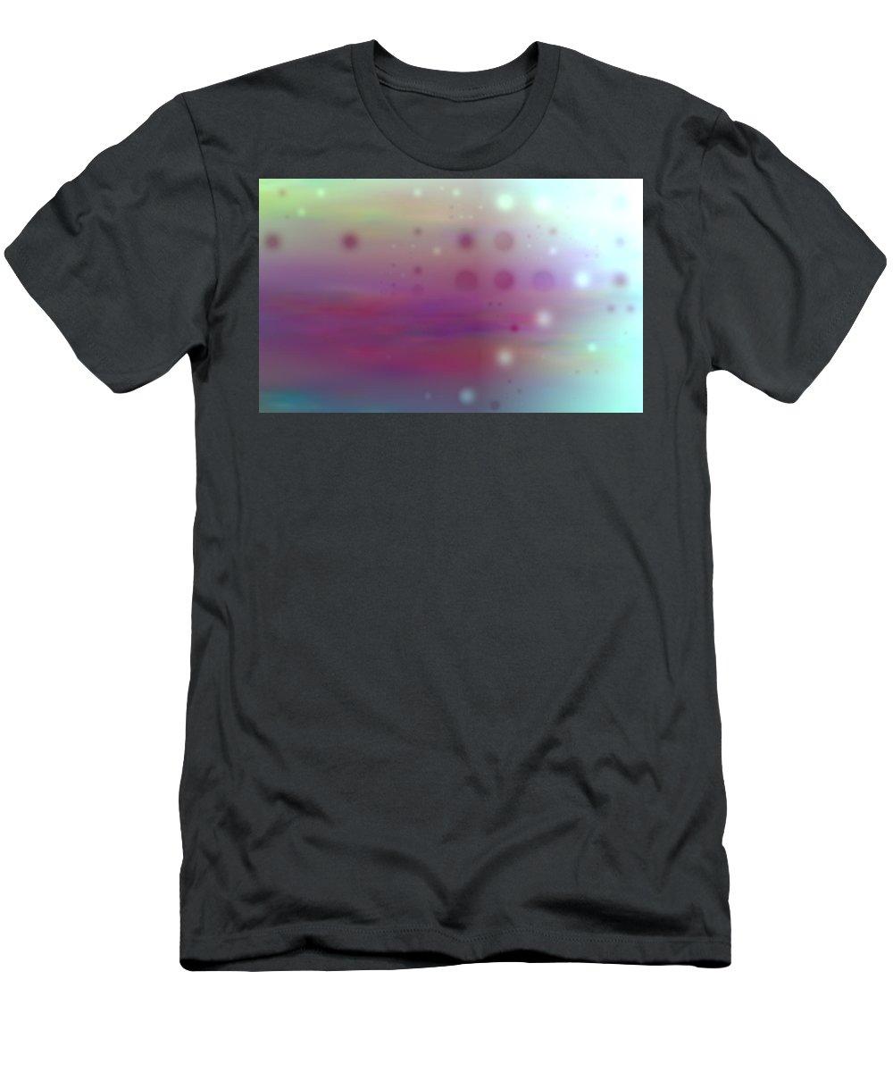 Art Digital Art Men's T-Shirt (Athletic Fit) featuring the digital art Colour22mlv - Impressions by Alex Porter