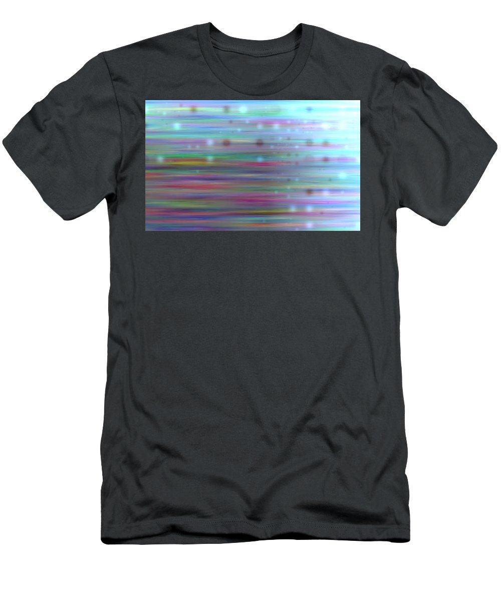 Art Digital Art Men's T-Shirt (Athletic Fit) featuring the digital art Colour23mlv - Impressions by Alex Porter