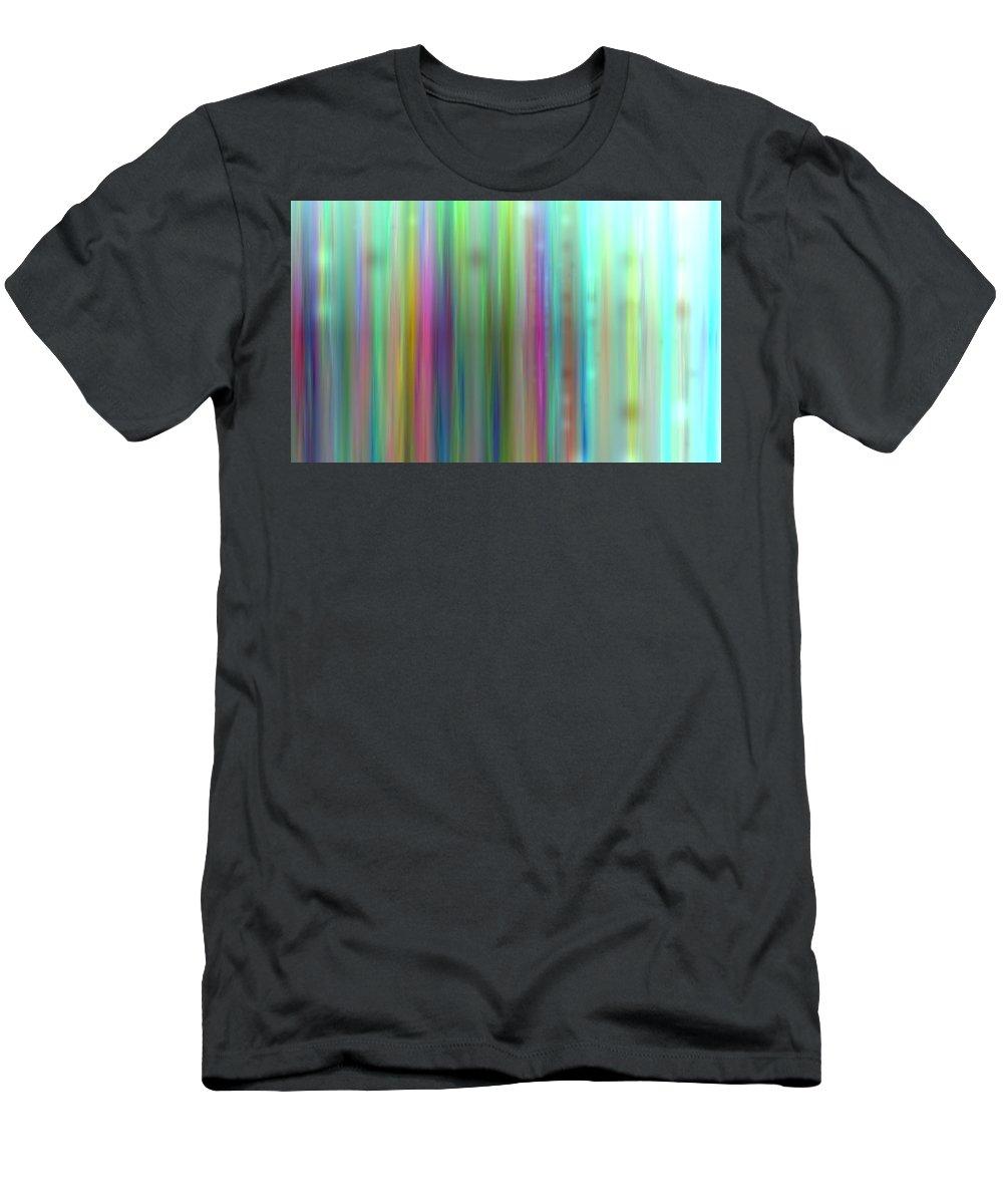 Art Digital Art Men's T-Shirt (Athletic Fit) featuring the digital art Colour2mlv - Impressions by Alex Porter