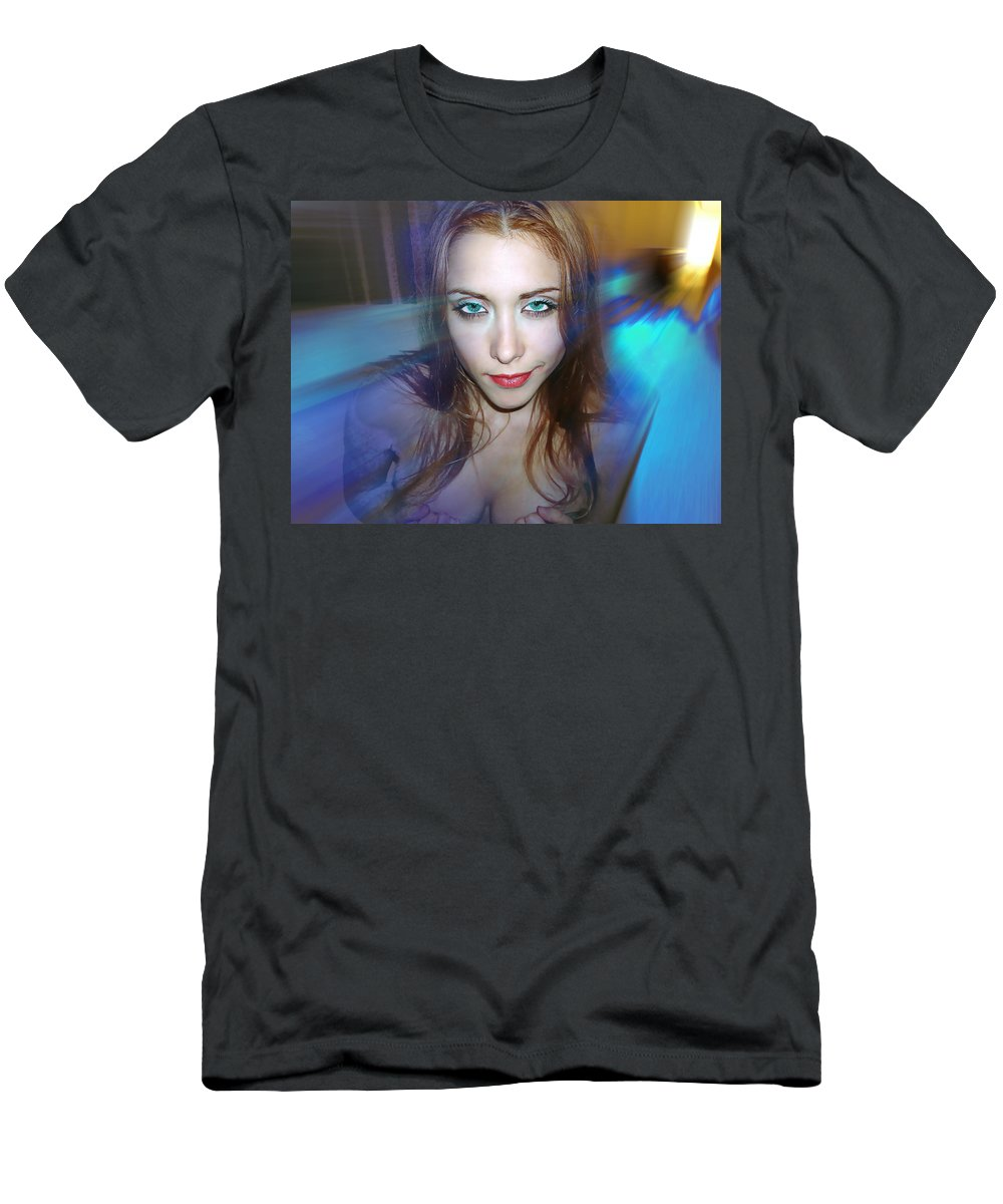 Women Men's T-Shirt (Athletic Fit) featuring the photograph Confidence by Francisco Colon
