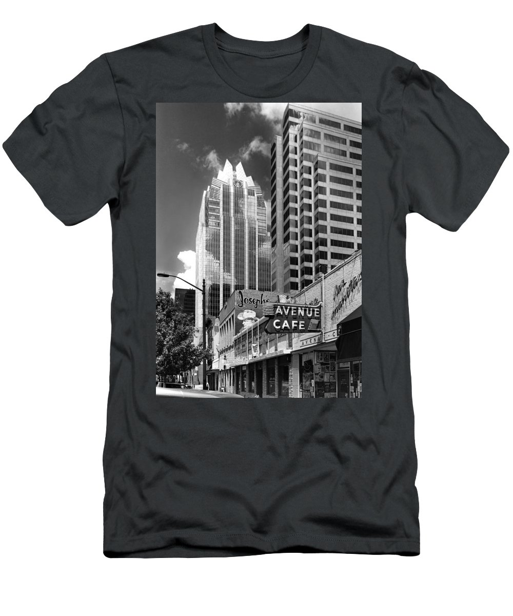Austin Men's T-Shirt (Athletic Fit) featuring the photograph Congress Avenue Vista by Jim Smith