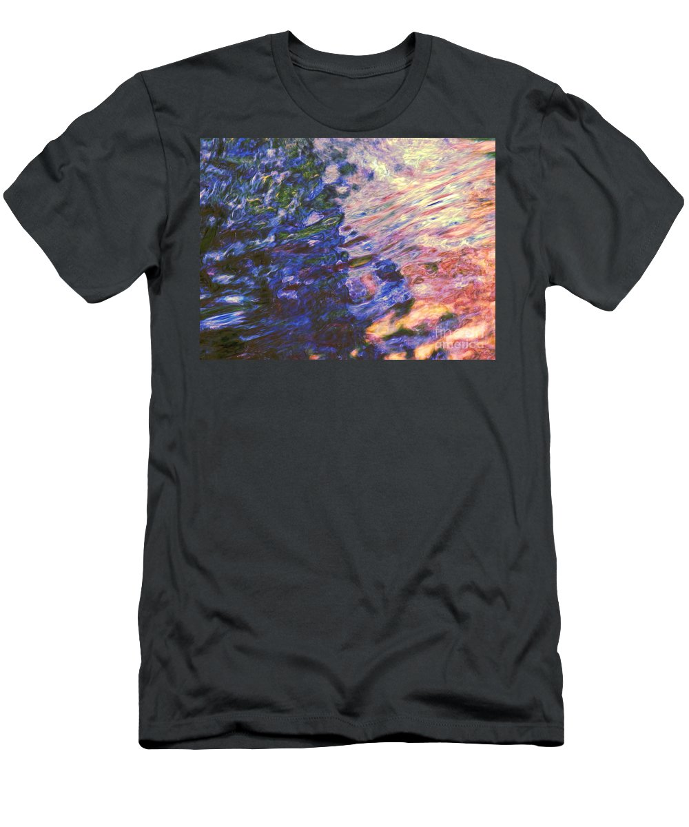 Abstract Men's T-Shirt (Athletic Fit) featuring the photograph Congruent Forces by Sybil Staples