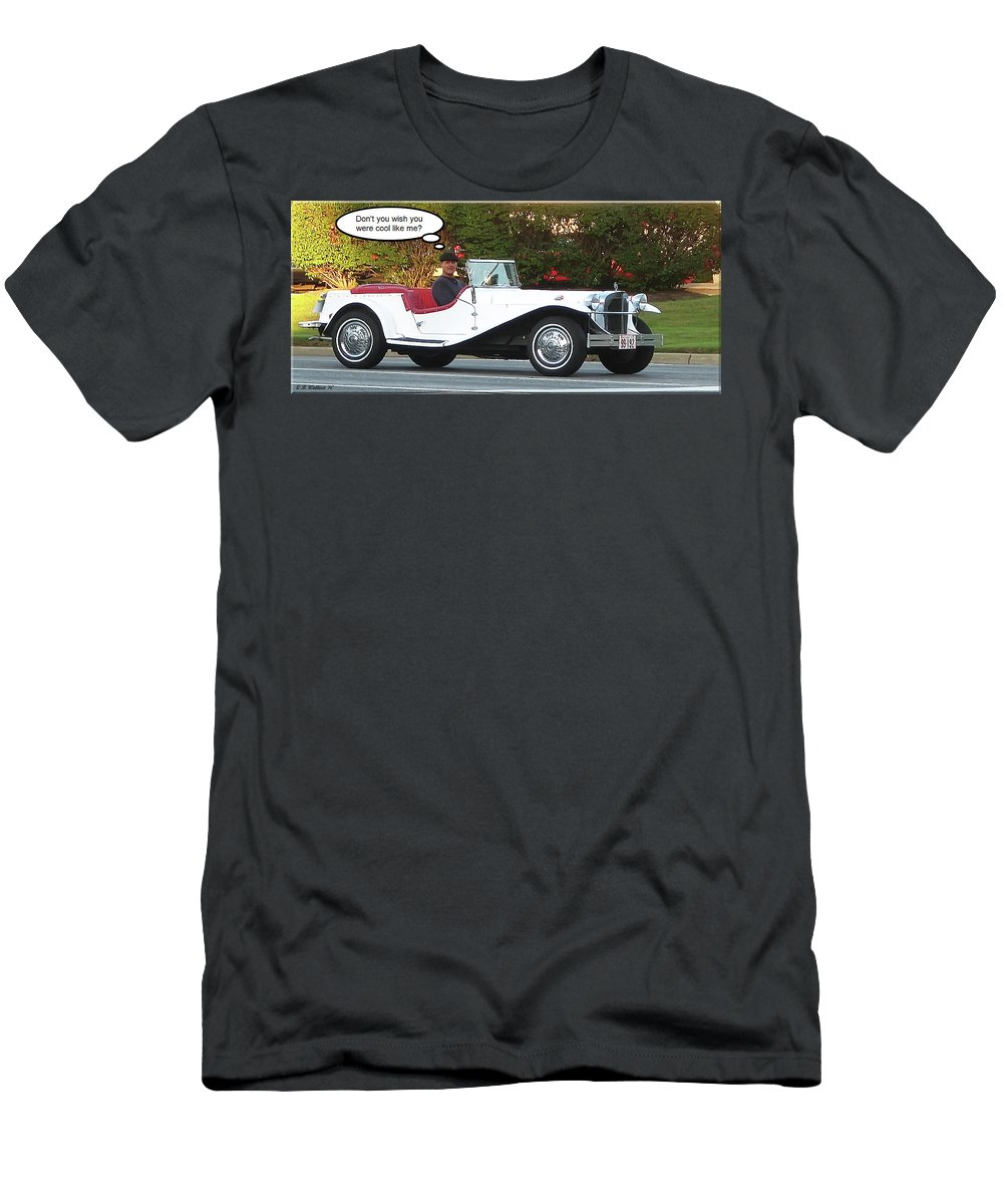 2d Men's T-Shirt (Athletic Fit) featuring the photograph Cool Like Me by Brian Wallace