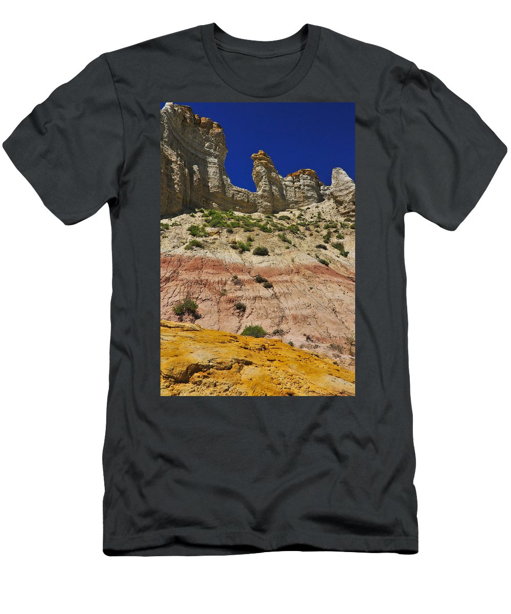 Coppertop Men's T-Shirt (Athletic Fit) featuring the photograph Coppertop by Skip Hunt