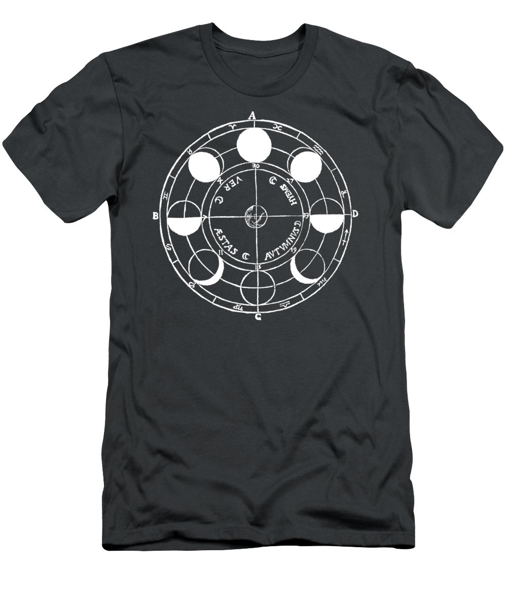 T-shirt Men's T-Shirt (Athletic Fit) featuring the photograph Cosmos 17 Tee by Edward Fielding