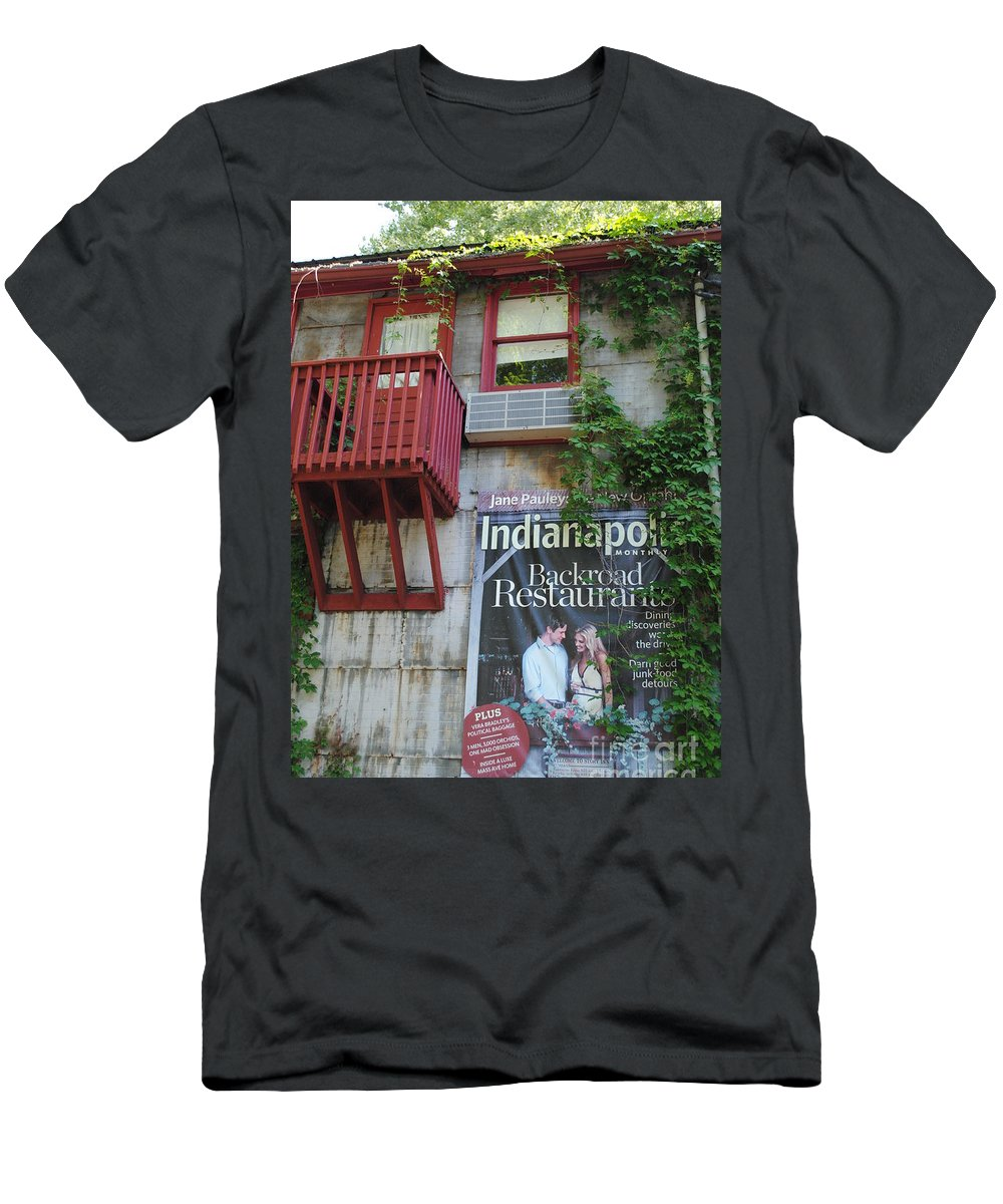Story Men's T-Shirt (Athletic Fit) featuring the photograph Country Goods by Jost Houk