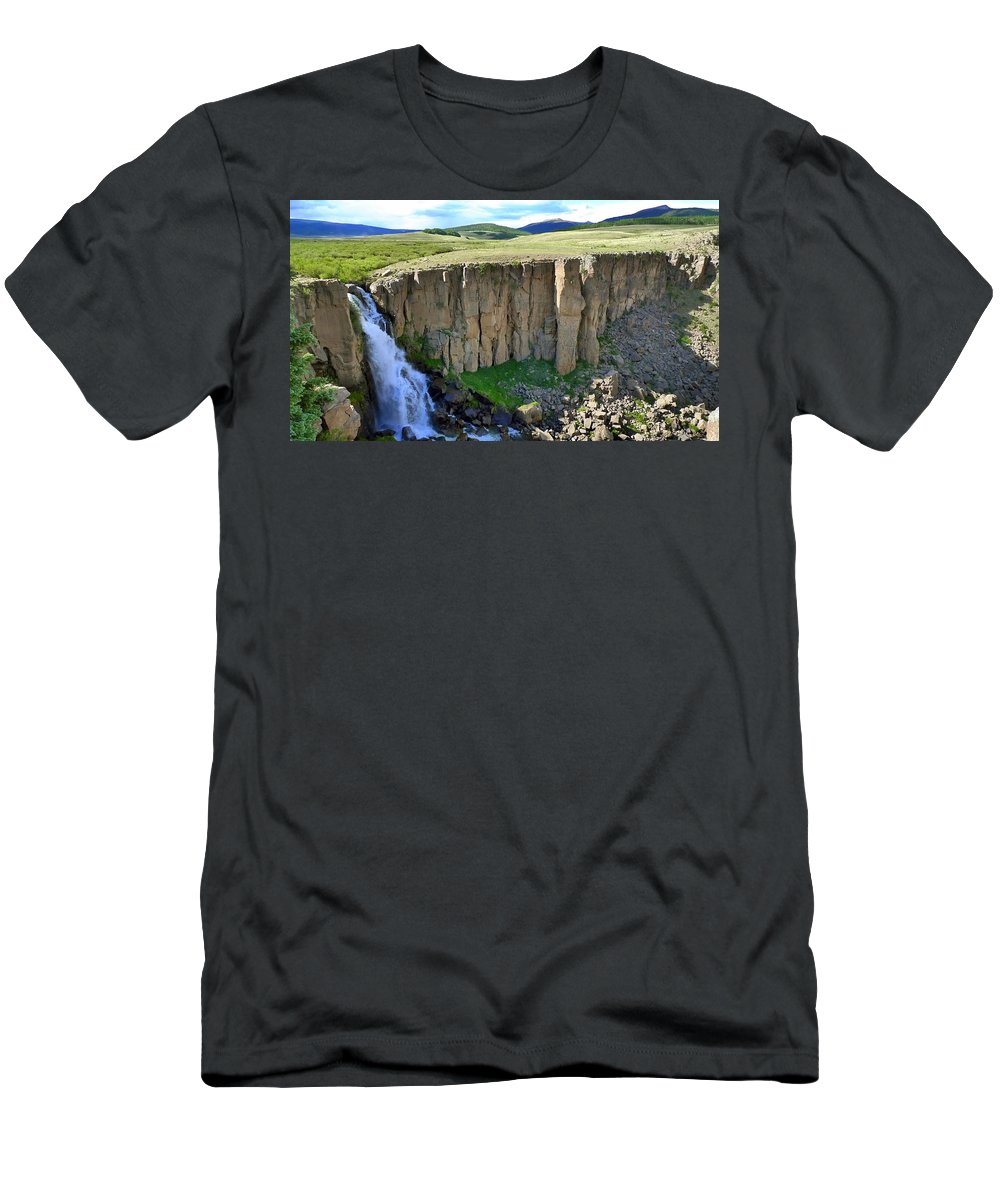 Creation Men's T-Shirt (Athletic Fit) featuring the photograph Creation by Skip Hunt