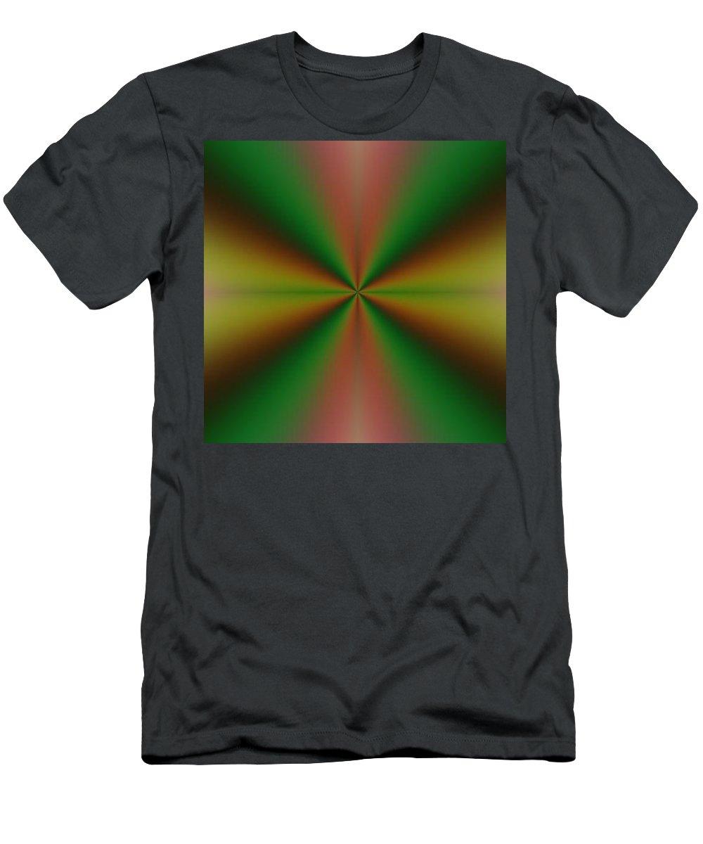 Digital Art Men's T-Shirt (Athletic Fit) featuring the digital art Crossing I by Dragica Micki Fortuna
