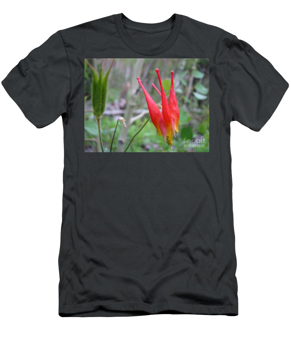 Flowers Of Colorado Men's T-Shirt (Athletic Fit) featuring the photograph Crown by Amanda Barcon