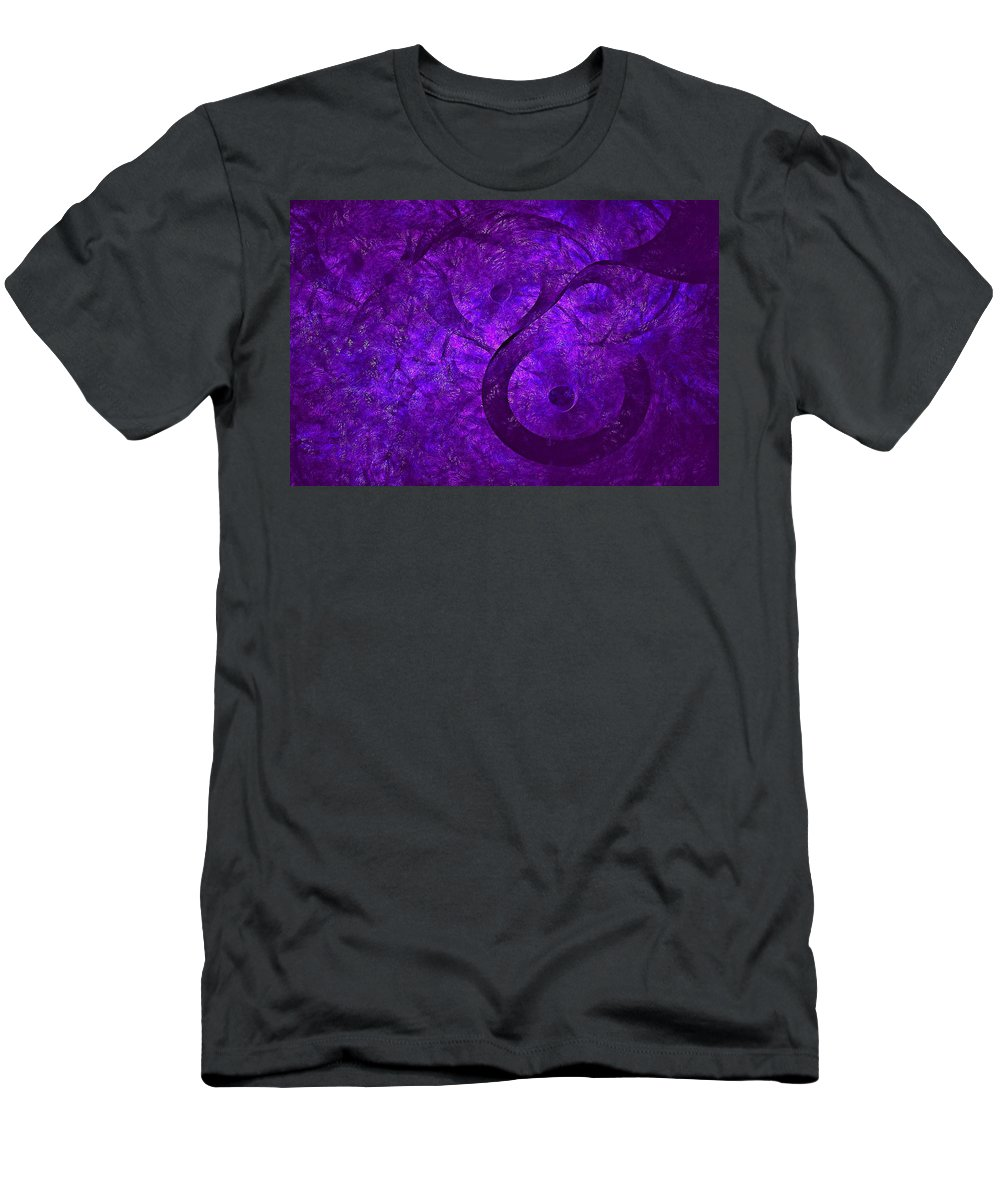 Men's T-Shirt (Athletic Fit) featuring the digital art Cyllene-2 by Doug Morgan