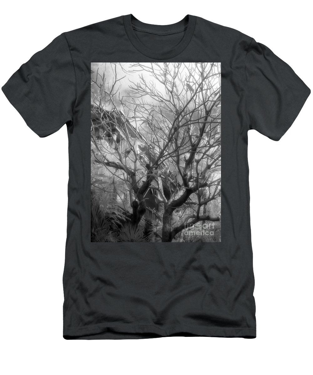 Infrared Photography Men's T-Shirt (Athletic Fit) featuring the photograph Day Dream by Richard Rizzo