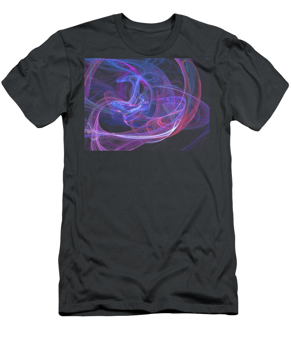 Marina Usmanskaya T-Shirt featuring the digital art Daydreams by Marina Usmanskaya