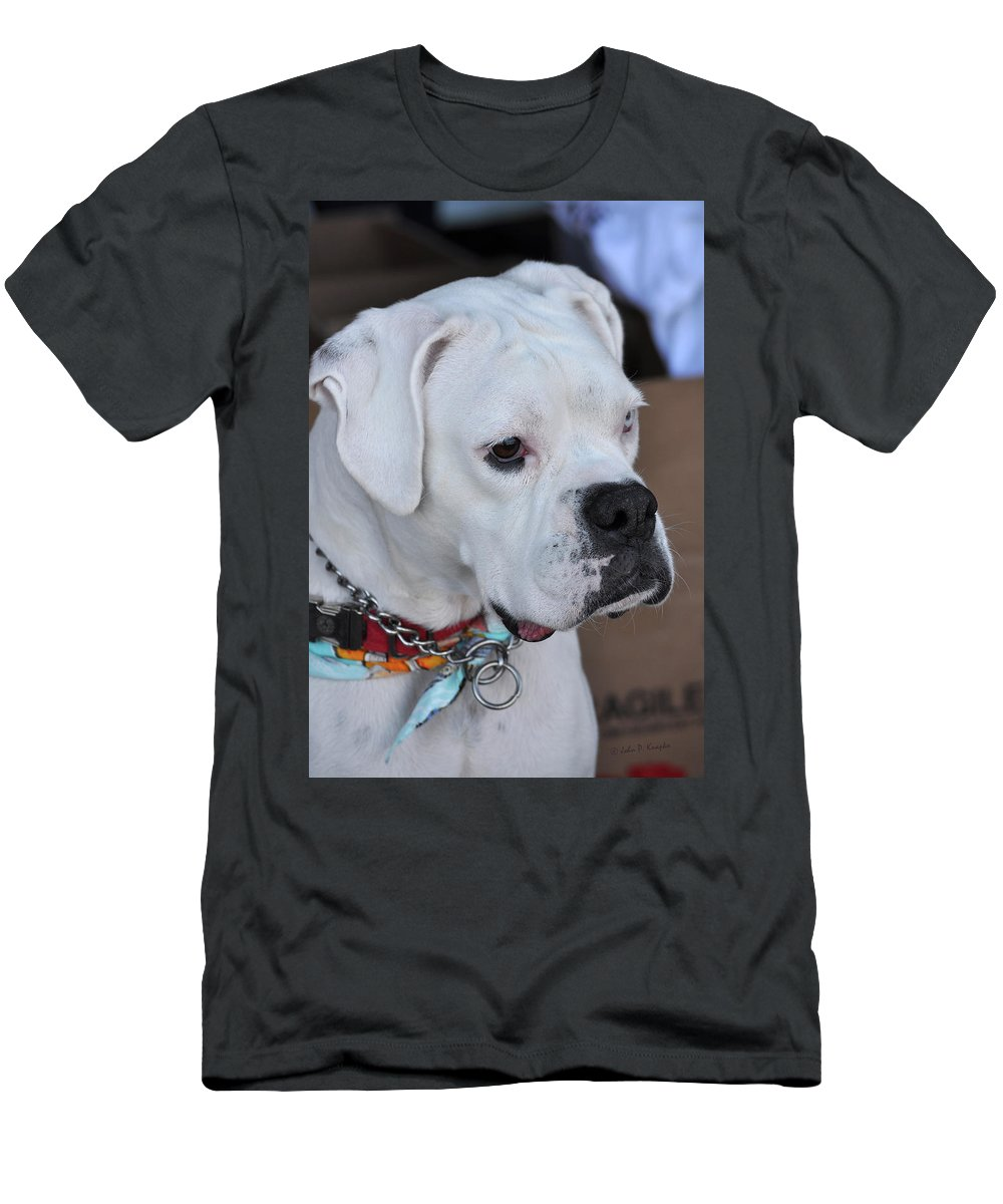 Knapko Men's T-Shirt (Athletic Fit) featuring the photograph Deep Focus by John Knapko