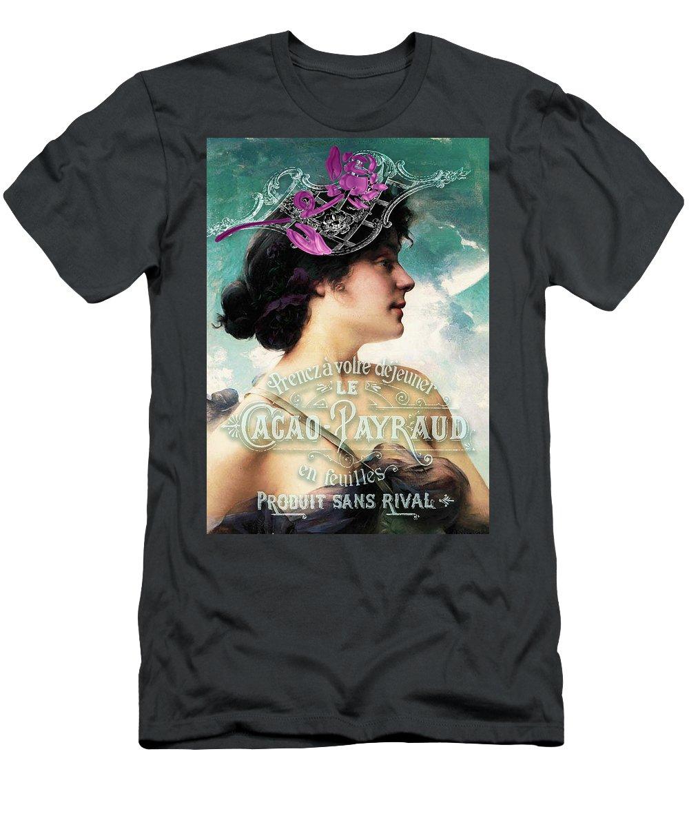 Beauty Men's T-Shirt (Athletic Fit) featuring the digital art Dejeuner De Luxe by Sarah Vernon