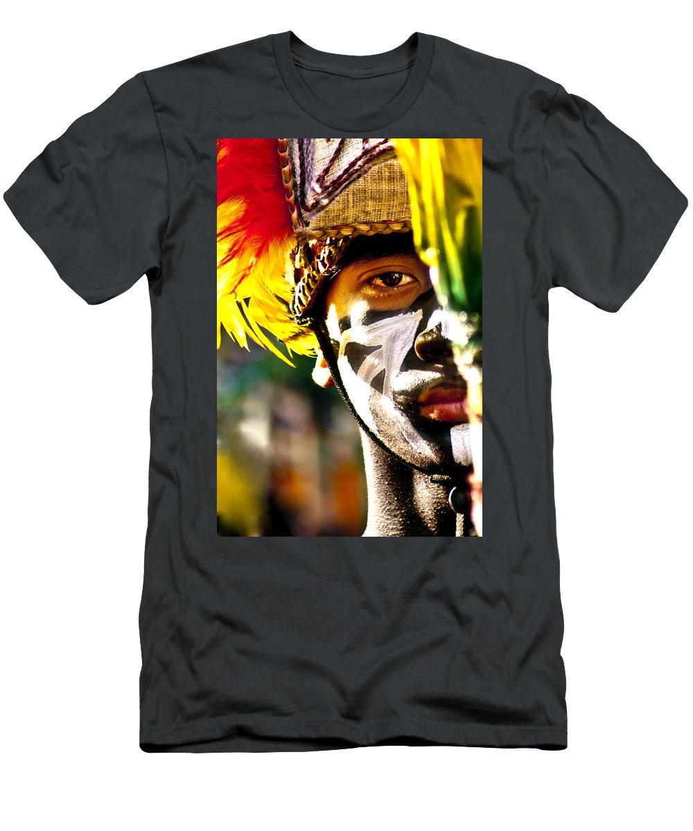 People Men's T-Shirt (Athletic Fit) featuring the photograph Dinagyan1 by George Cabig