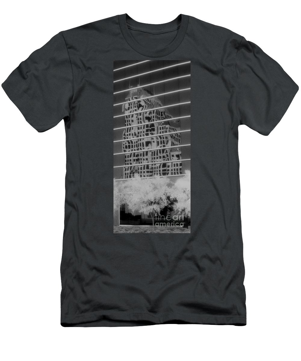 Distorted Men's T-Shirt (Athletic Fit) featuring the photograph Distorted Views by Richard Rizzo