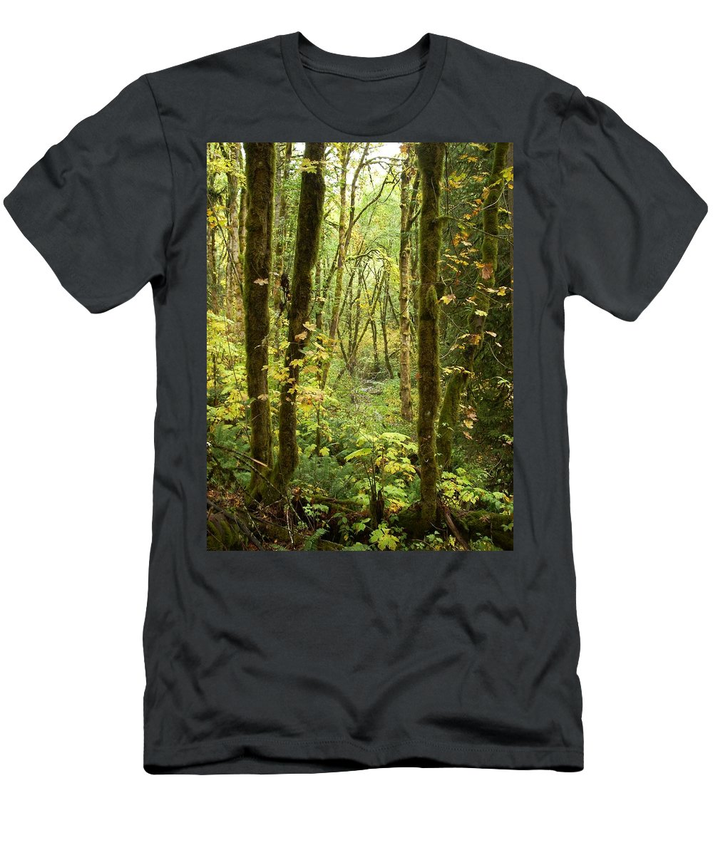 Woods Men's T-Shirt (Athletic Fit) featuring the photograph Dixie by Sara Stevenson