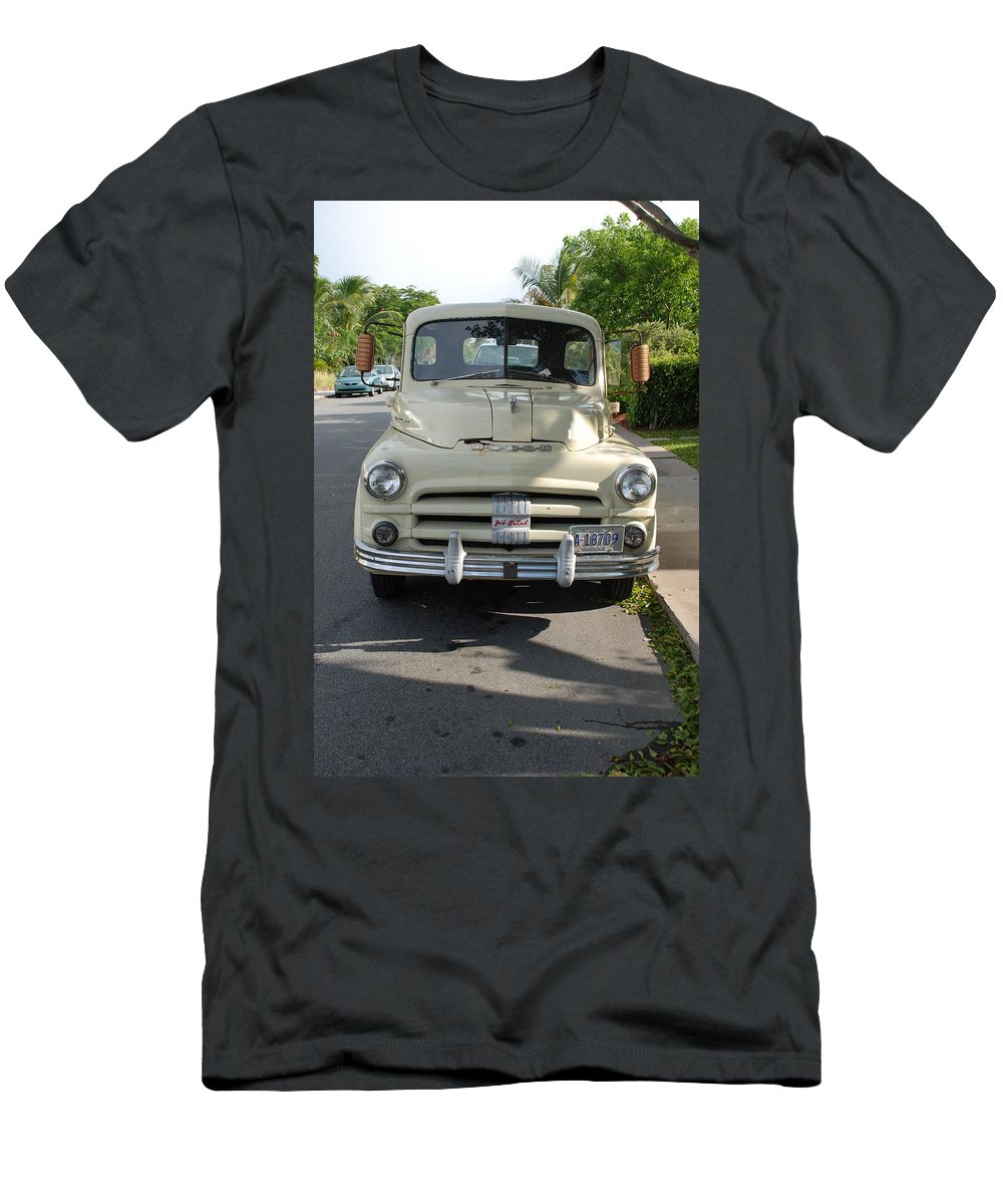 Truck Men's T-Shirt (Athletic Fit) featuring the photograph Dodge by Rob Hans