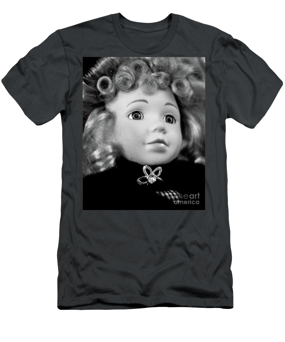 Doll Men's T-Shirt (Athletic Fit) featuring the photograph Doll 57 by Robert Yaeger