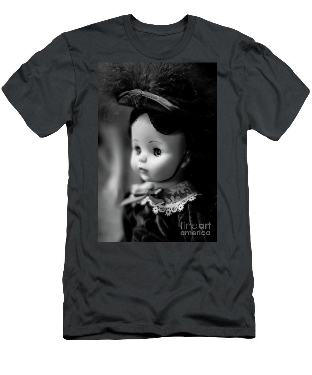 Doll Men's T-Shirt (Athletic Fit) featuring the photograph Doll 62 by Robert Yaeger