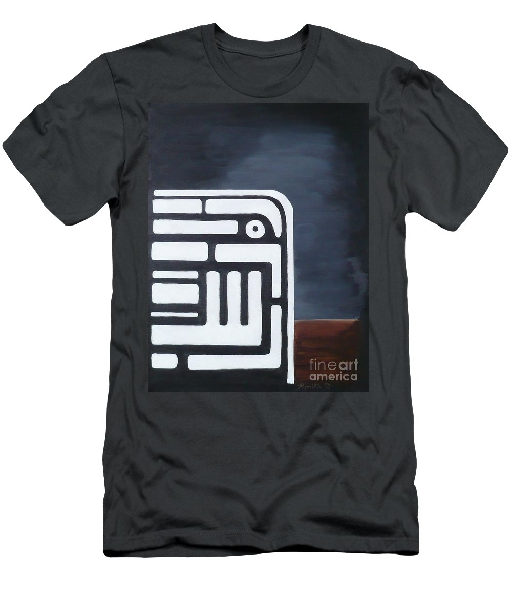 Dream Men's T-Shirt (Athletic Fit) featuring the painting Dream by Monika Shepherdson