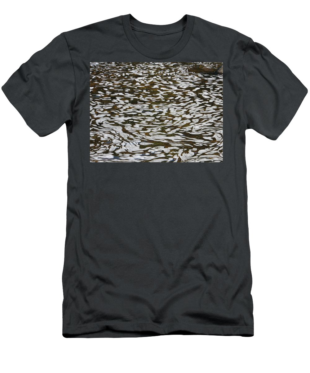 River Men's T-Shirt (Athletic Fit) featuring the photograph Dreams by Kelly Mezzapelle