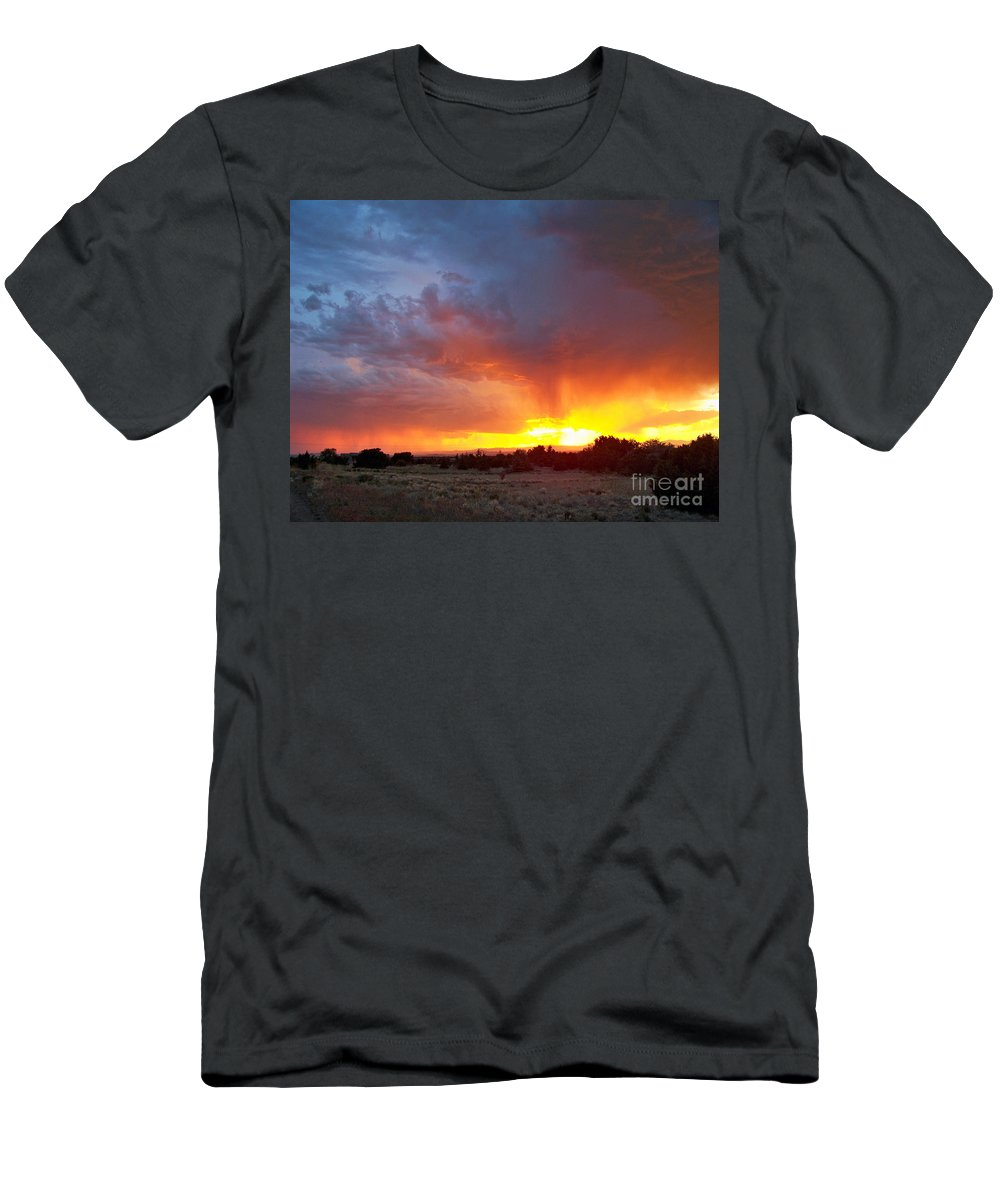 Sky Men's T-Shirt (Athletic Fit) featuring the photograph Drink The Sky by Brian Commerford