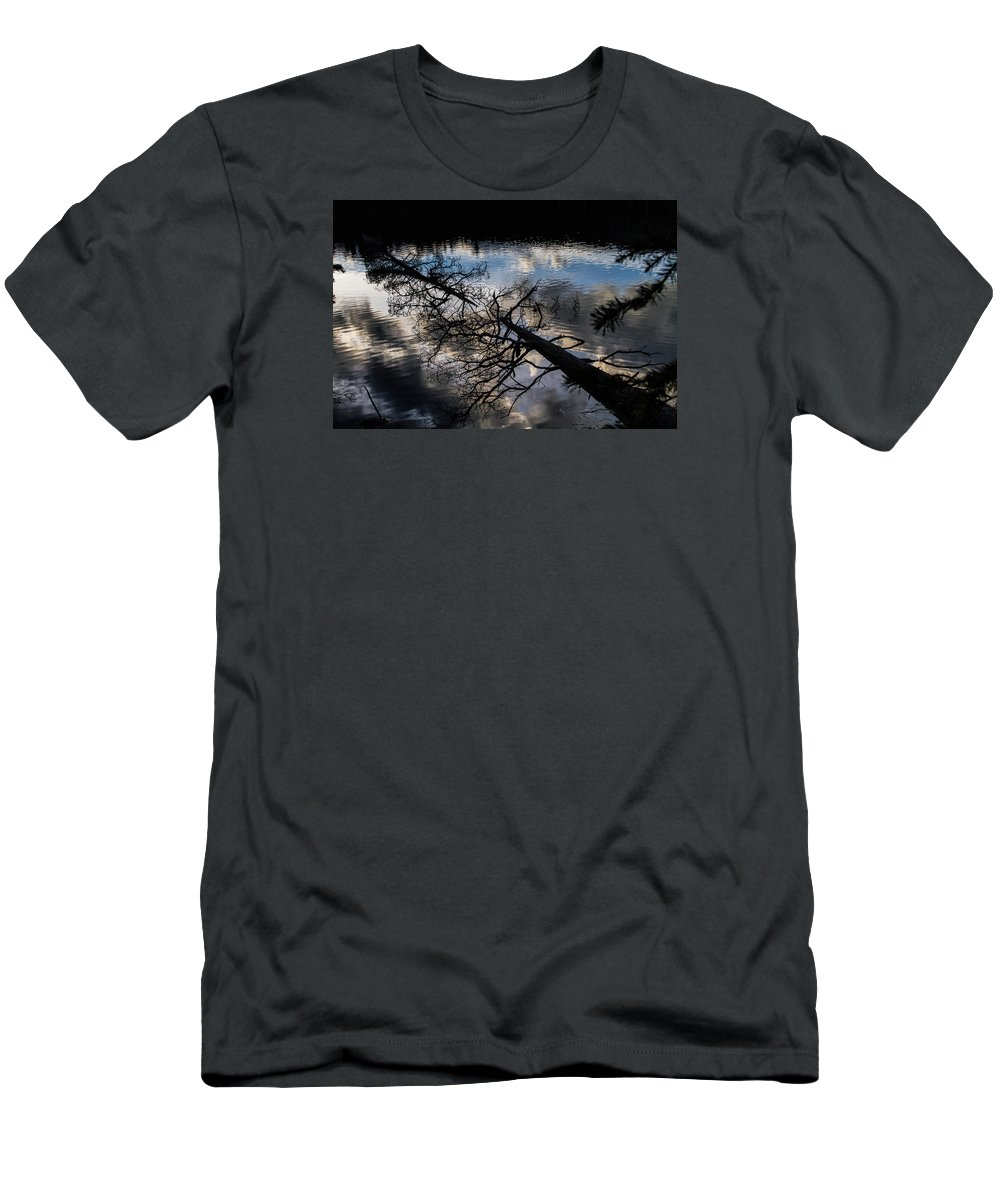 Reflection T-Shirt featuring the photograph Earth To Water by Alana Thrower