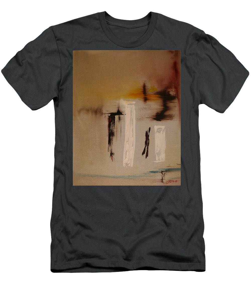 Art T-Shirt featuring the painting Easy by Jack Diamond