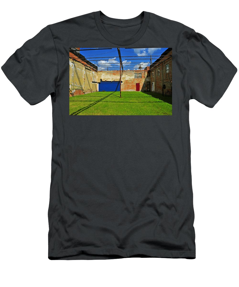 Skiphunt Men's T-Shirt (Athletic Fit) featuring the photograph Eco-store by Skip Hunt