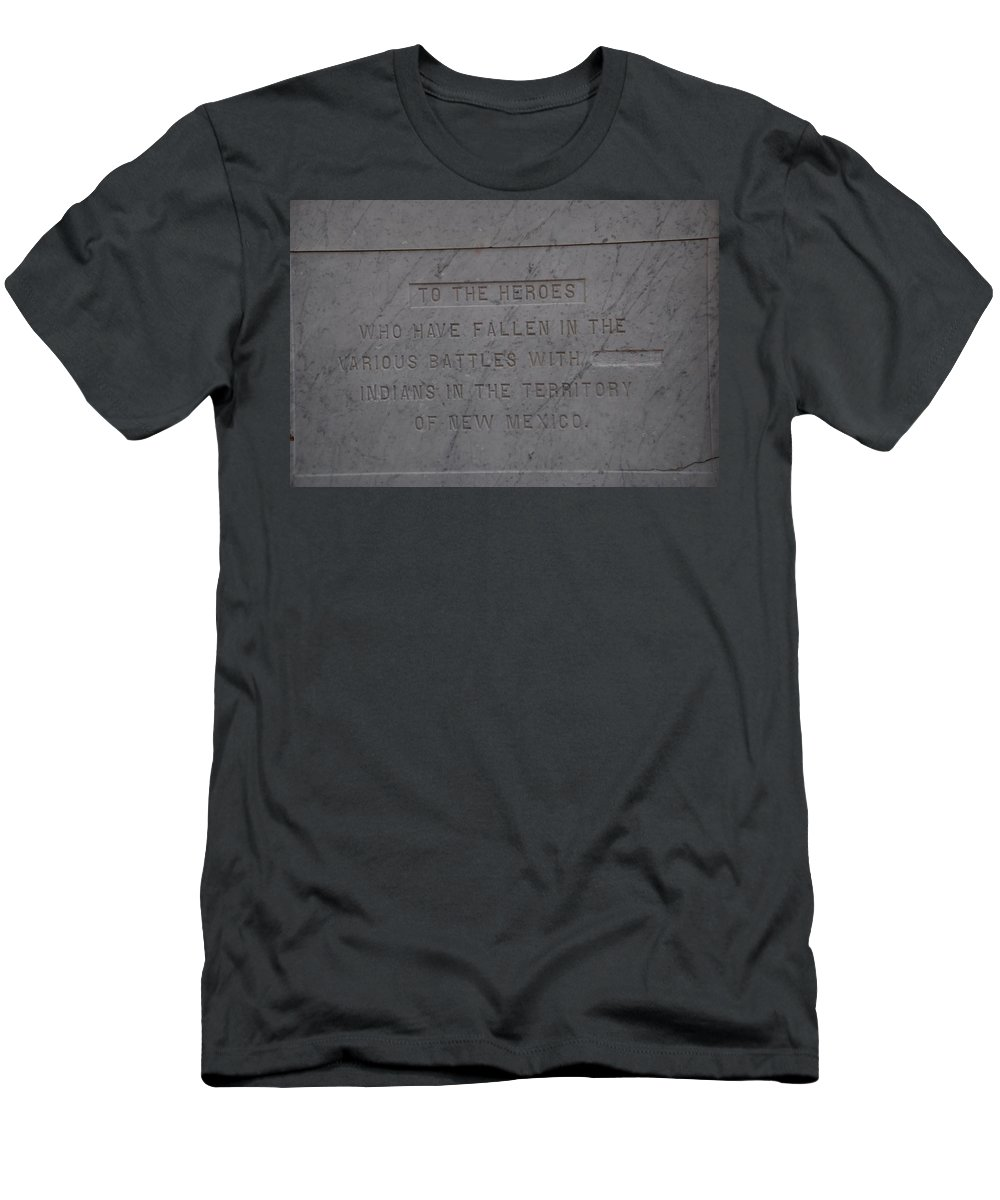 Marble Men's T-Shirt (Athletic Fit) featuring the photograph Edited Deleted History by Rob Hans