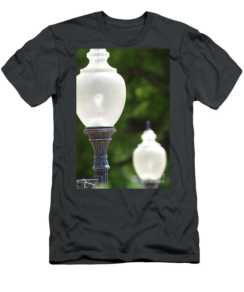 Abstract Men's T-Shirt (Athletic Fit) featuring the photograph Electrified by Alan Look