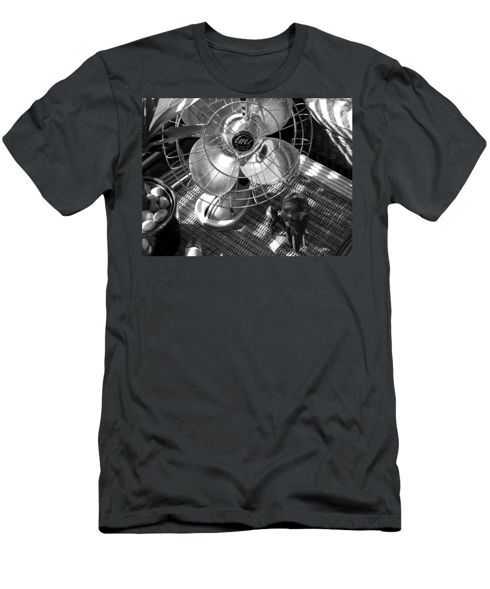 Still Life Men's T-Shirt (Athletic Fit) featuring the photograph Elephant Walk by Charles Stuart
