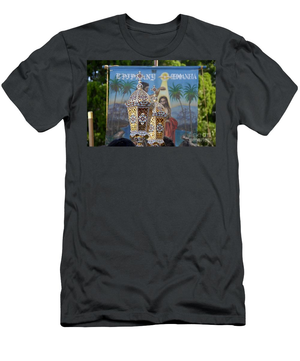 Epiphany Men's T-Shirt (Athletic Fit) featuring the photograph Epiphany Celebration by David Lee Thompson