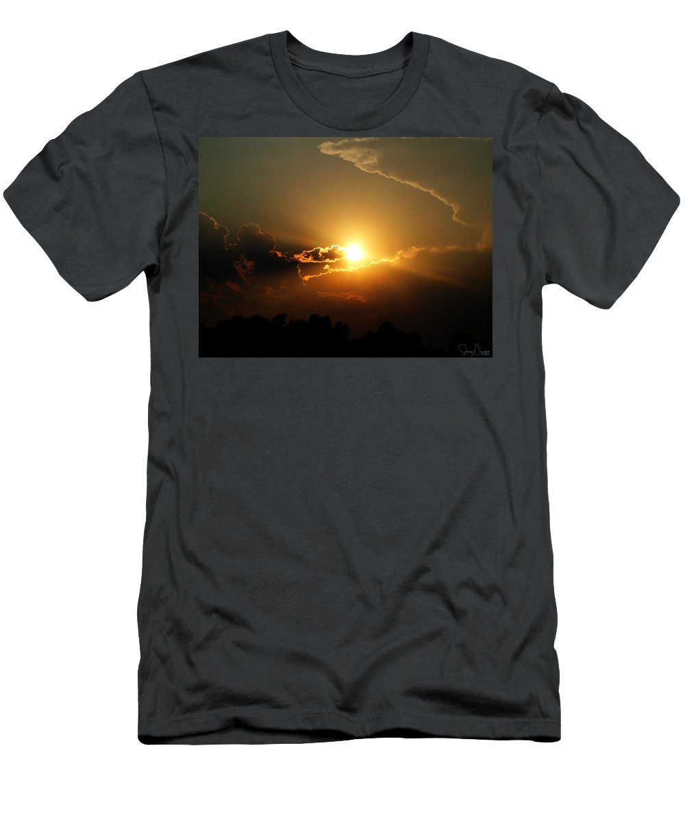 Jenny Gandert Men's T-Shirt (Athletic Fit) featuring the photograph Eternity by Jenny Gandert