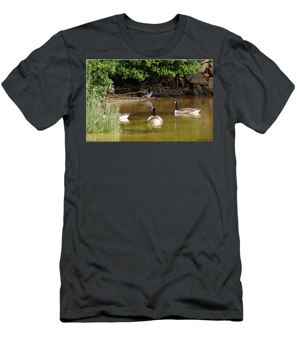 2d Men's T-Shirt (Athletic Fit) featuring the photograph Ever Get The Feeling... by Brian Wallace