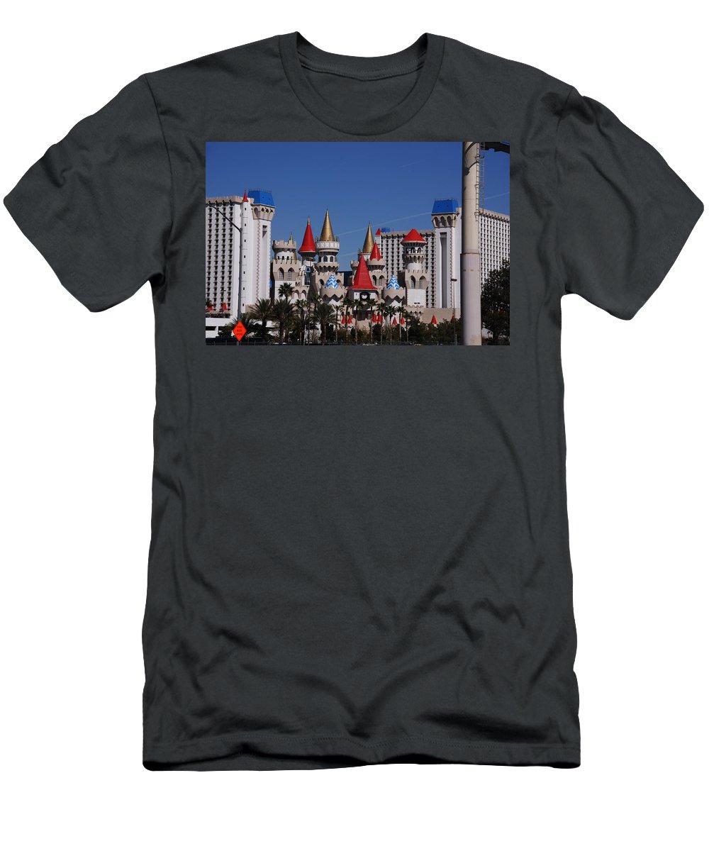 Excalibur Men's T-Shirt (Athletic Fit) featuring the photograph Excalibur by Susanne Van Hulst