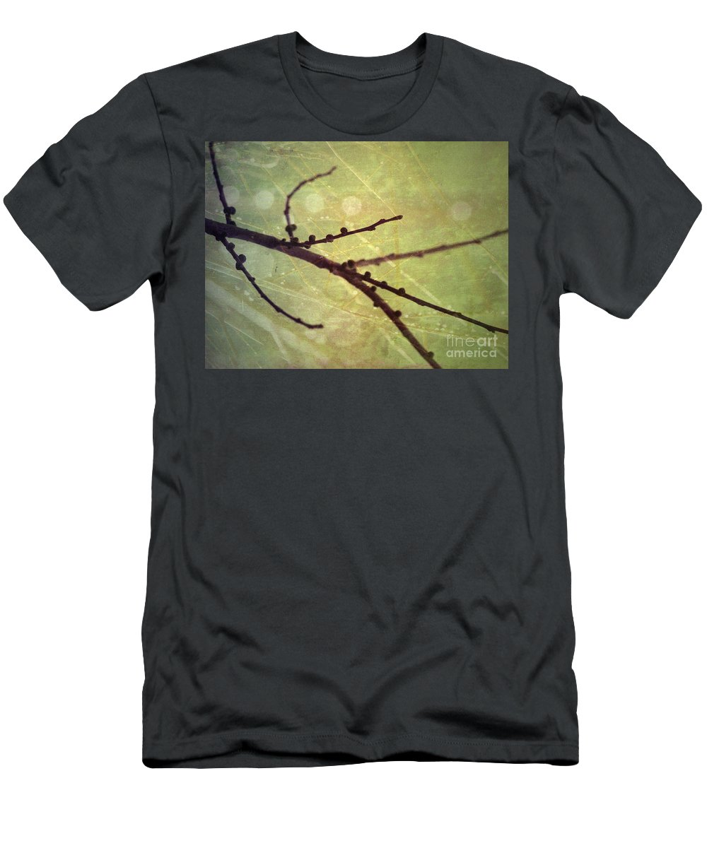 Branch Men's T-Shirt (Athletic Fit) featuring the photograph Exposed by Tara Turner